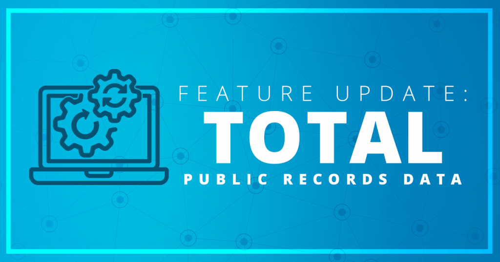 Public Records Data Feature Update